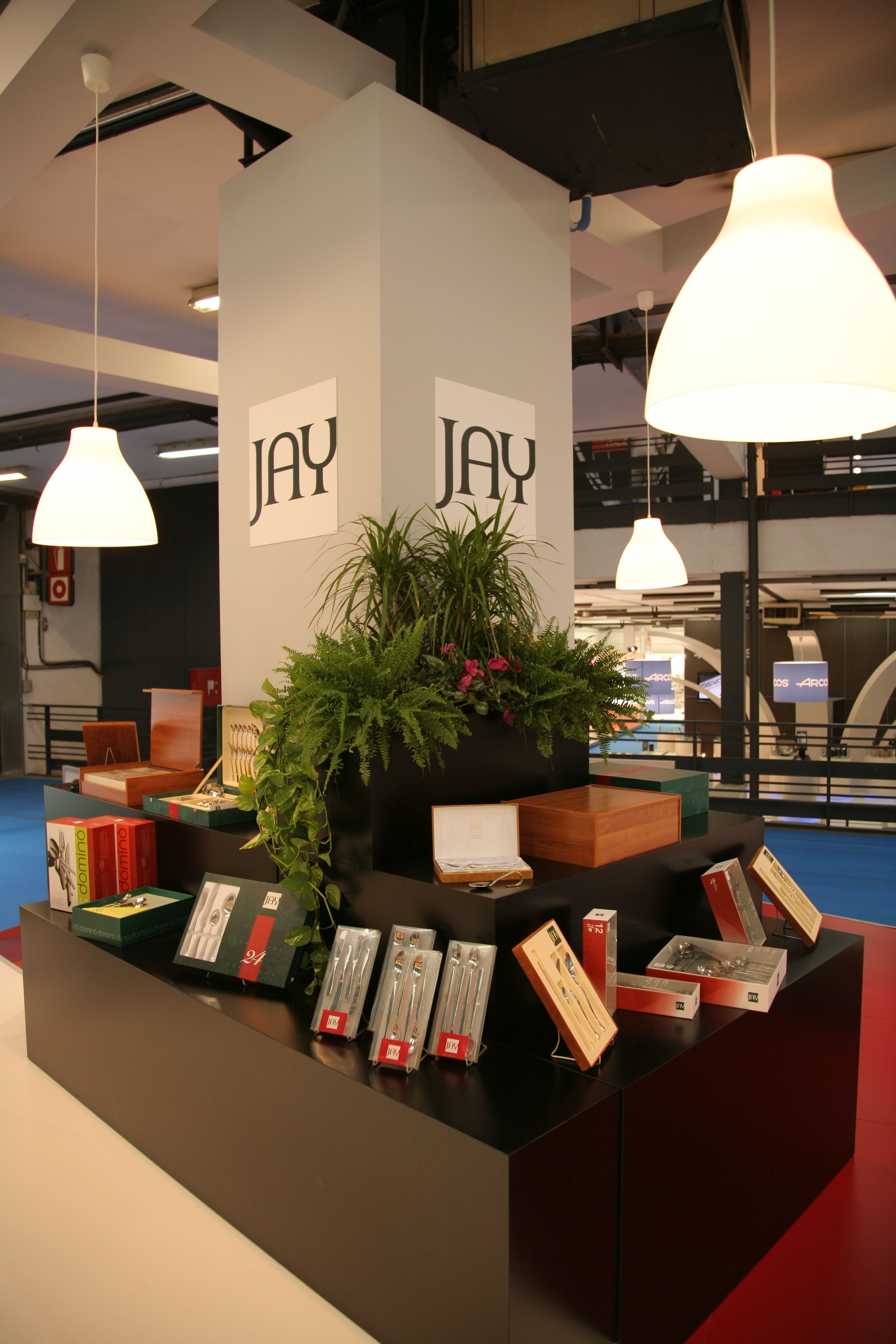 Diseño stands JAY 2008