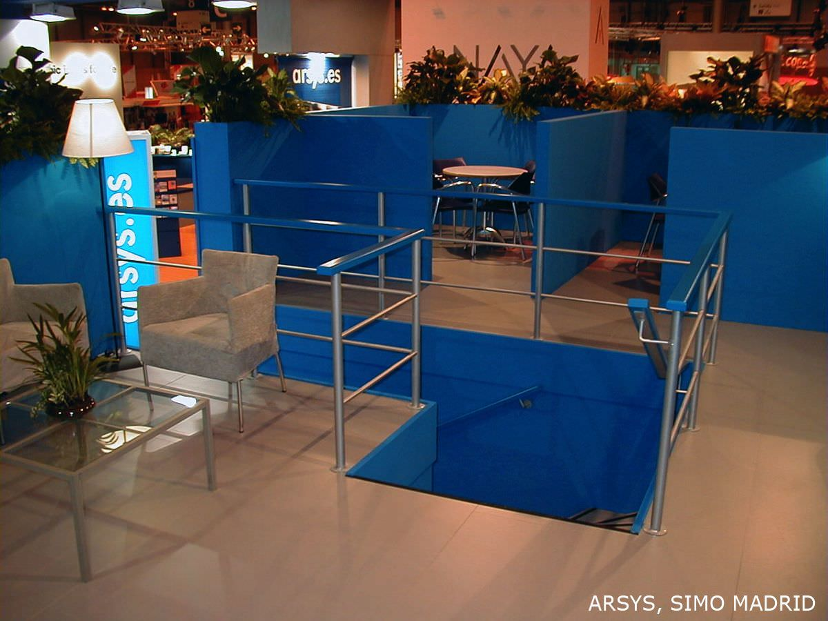 Diseño stands Arsys 2011-2013