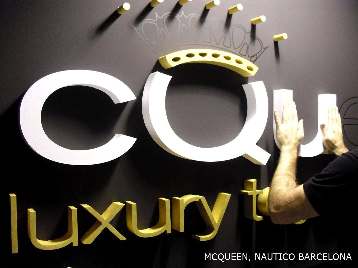 Diseño de stands McQueen 2011-2013