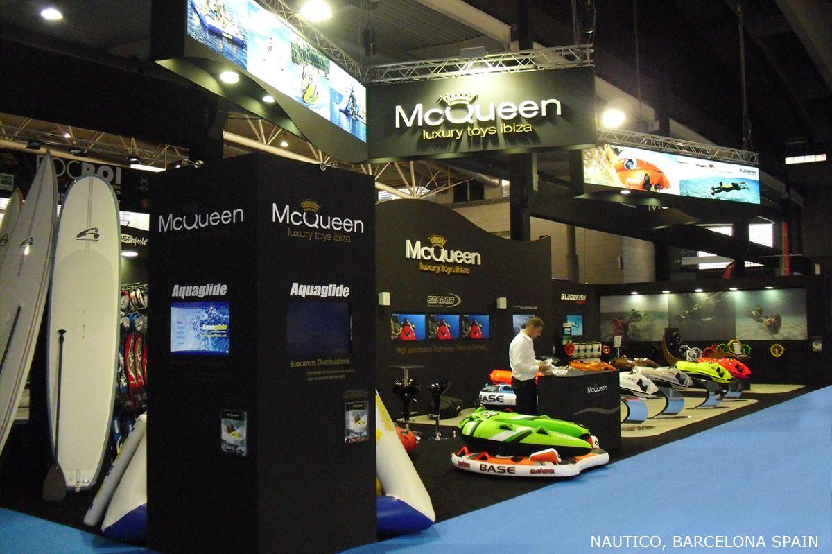 MCQUEEN Stand Design 2011-2013