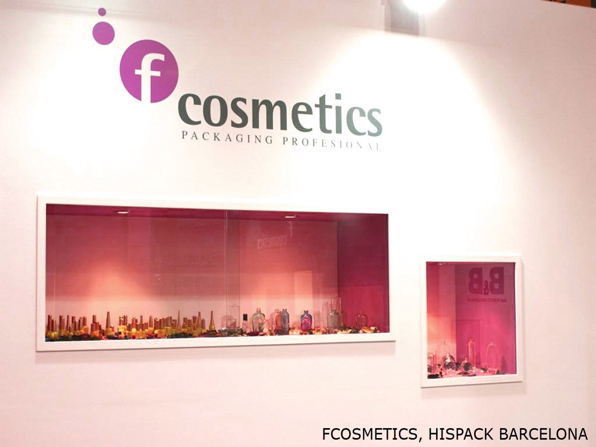 Diseño de stands FCOSMETIC 2011-2013