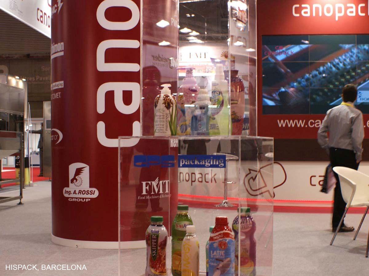 Diseño de stands CANOPACK 2011-2013