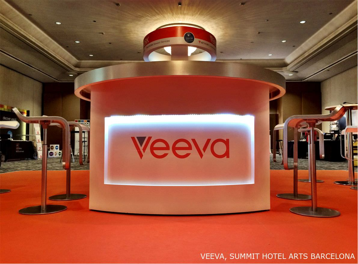 VEEVA Stand Construction 2014