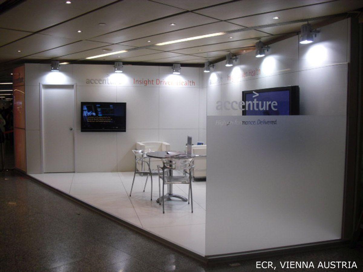 Diseño stands Accenture 2011-2013
