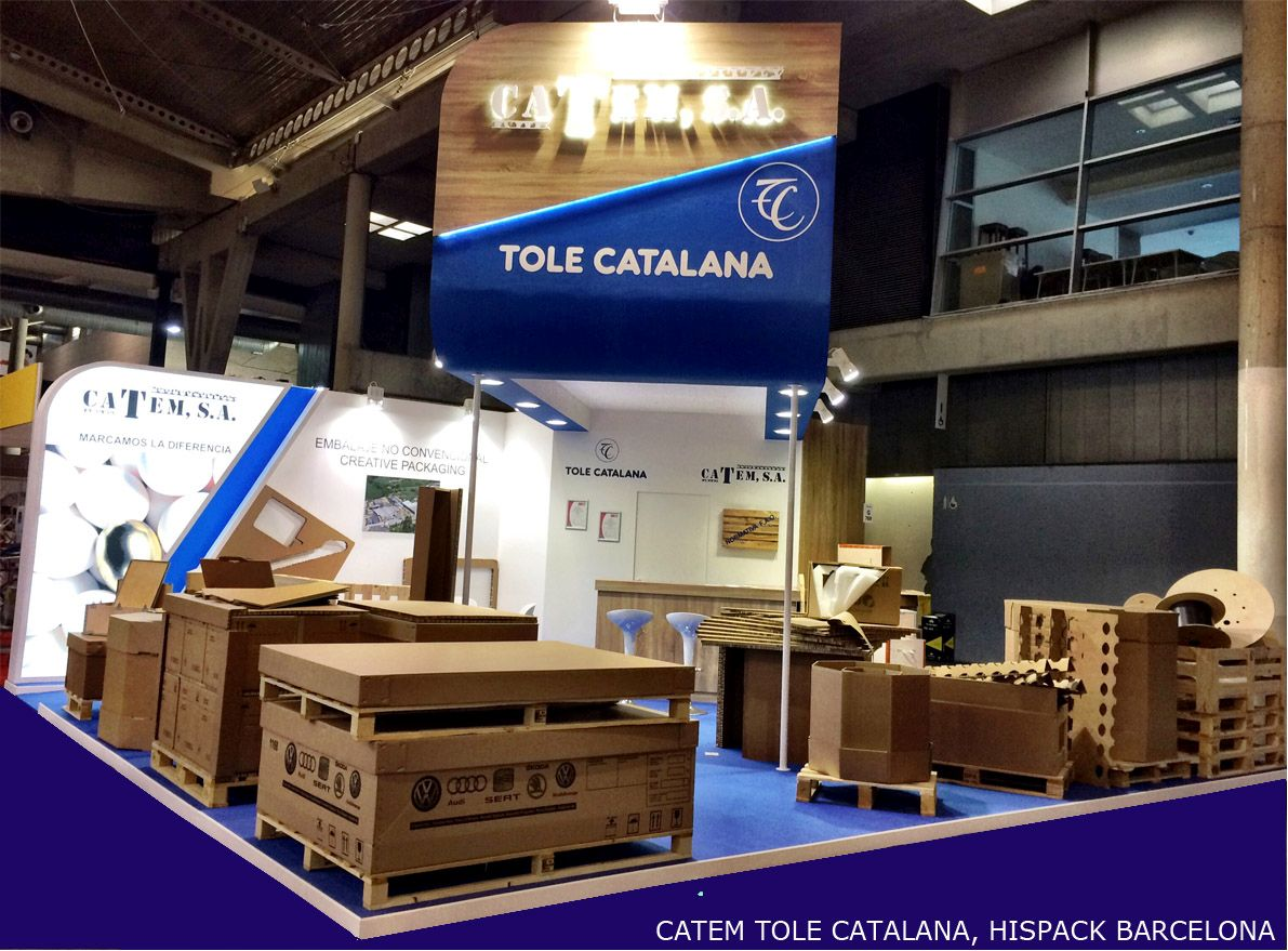 Montaje de stands CATEM 2015